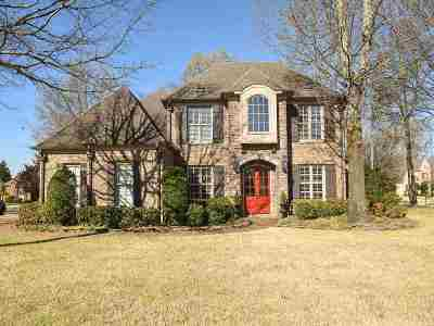 Collierville Single Family Home Contingent: 145 Ivy Brook