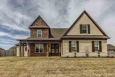 Atoka Single Family Home Contingent: 152 Buck Trail
