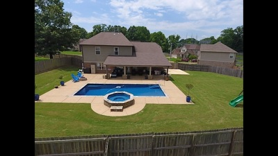 Atoka Single Family Home Contingent: 128 Tealwood