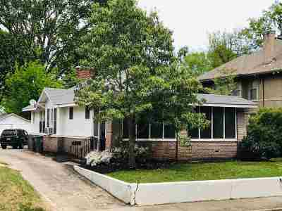 Central Gardens Single Family Home For Sale: 1610 Linden