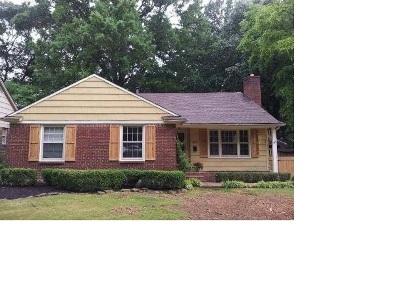 Memphis Single Family Home For Sale: 3449 Highland Park