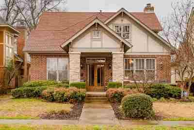 Memphis Single Family Home Contingent: 353 N Willett