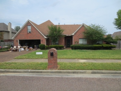 Collierville Single Family Home For Sale: 1361 Grey Wolf