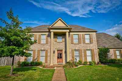 Collierville Single Family Home For Sale: 1396 Hunters Mill