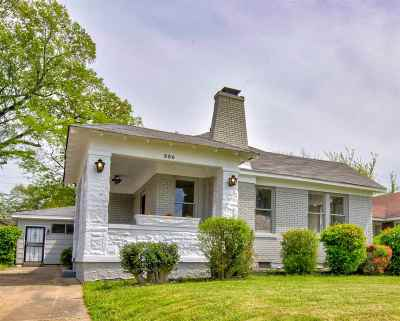 Memphis TN Single Family Home For Sale: $150,000