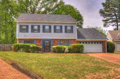 Memphis Single Family Home For Sale: 3109 Raleigh Ridge
