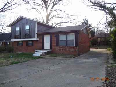 Memphis Single Family Home For Sale: 3423 S Perkins
