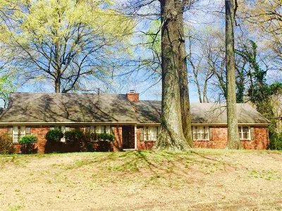 Memphis Single Family Home For Sale: 1184 Old Hickory