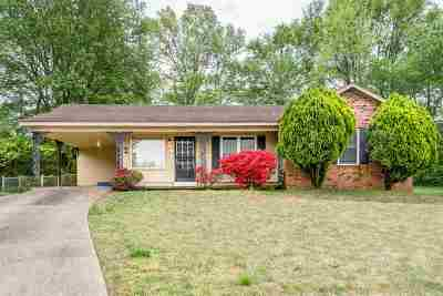 Memphis Single Family Home For Sale: 3694 Battlefield