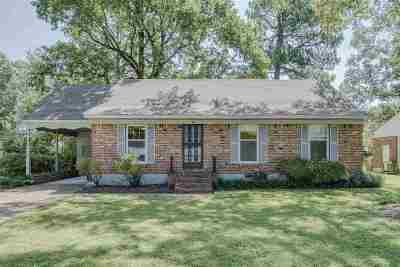 Memphis TN Single Family Home For Sale: $179,500