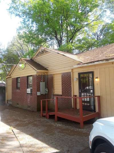 Memphis Single Family Home For Sale: 1617 Portland