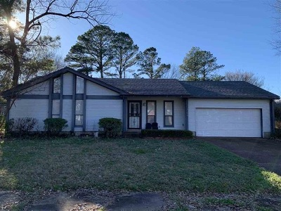Memphis Single Family Home For Sale: 3121 Raleigh Ridge