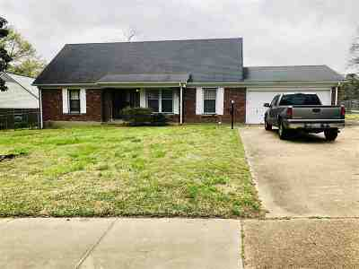 Memphis TN Single Family Home For Sale: $77,000