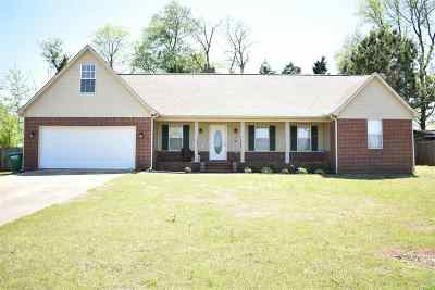 Atoka Single Family Home Contingent: 131 Fulcher