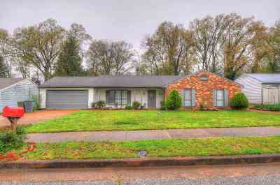Memphis TN Single Family Home For Sale: $145,950