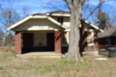 Memphis TN Single Family Home For Sale: $54,000