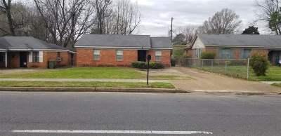 Memphis Single Family Home For Sale: 3601 Horn Lake