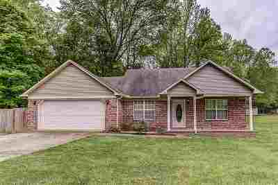 Atoka Single Family Home Contingent: 397 Rosiland