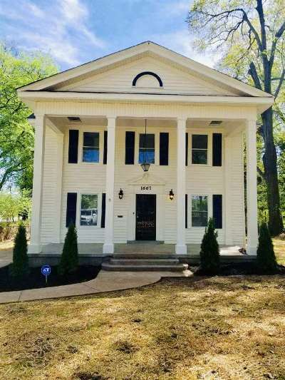 Memphis Single Family Home Contingent: 1667 S Parkway E