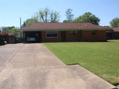 Memphis TN Single Family Home Contingent: $108,000