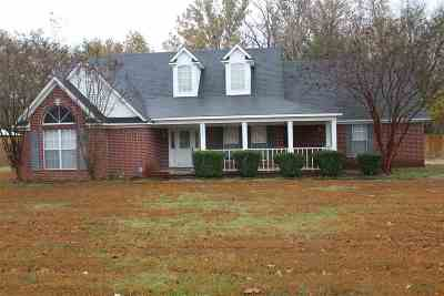 Atoka Single Family Home For Sale: 1067 Walker