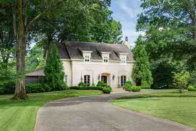 Memphis Single Family Home For Sale: 3915 Central
