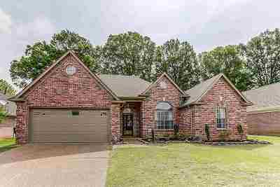 Collierville Single Family Home Contingent: 1320 River Bank