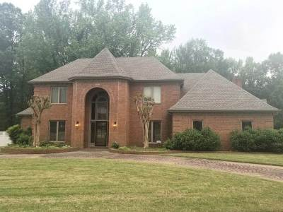 Collierville Single Family Home For Sale: 10489 Shea Woods