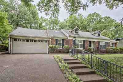 Memphis Single Family Home Contingent: 5355 Rolling Oaks