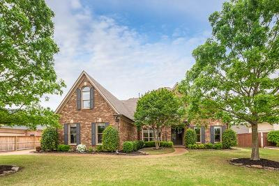Collierville Single Family Home For Sale: 1831 Mossy Oak