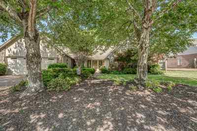 Memphis Single Family Home Contingent: 332 Walnut Trace
