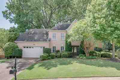 Collierville Single Family Home Contingent: 391 Fairwoods