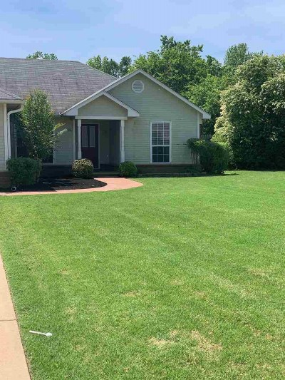 Atoka Single Family Home Contingent: 173 W Squires Grove