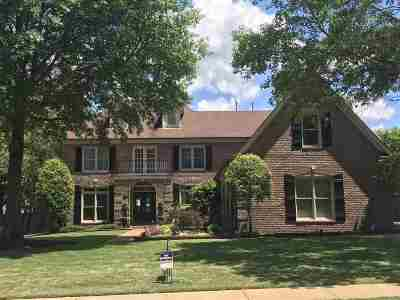 Collierville Single Family Home Contingent: 1616 Courtfield