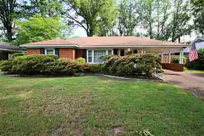Memphis TN Single Family Home Contingent: $170,000