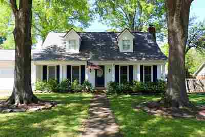Collierville Single Family Home Contingent: 126 E Graycrest
