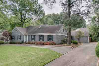 Memphis Single Family Home Contingent: 4517 Laurelwood