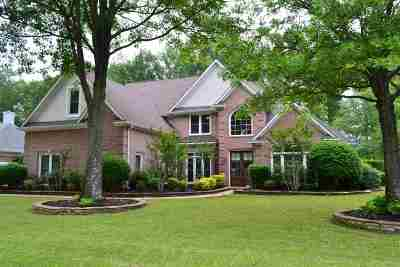Collierville Single Family Home Contingent: 2200 Lake Page