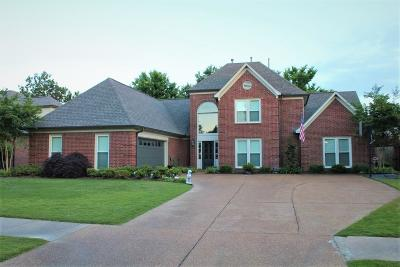 Collierville Single Family Home Contingent: 513 Hunters Mill