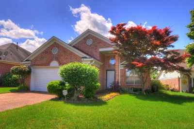 Bartlett Single Family Home Contingent: 4125 Persimmon Hill