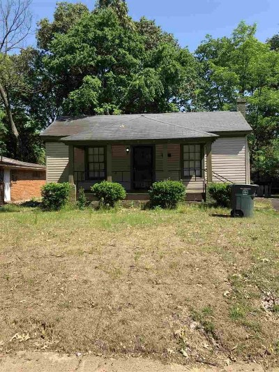 Memphis Single Family Home For Sale: 3176 Lyndale
