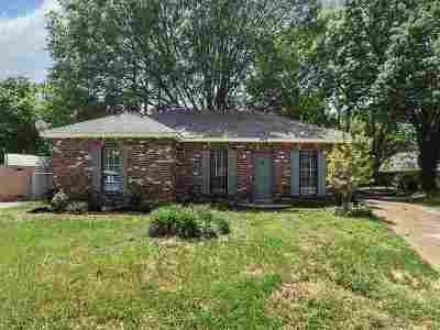 Memphis Single Family Home For Sale: 1549 Cupwood
