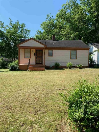 Memphis Single Family Home For Sale: 1971 Martin