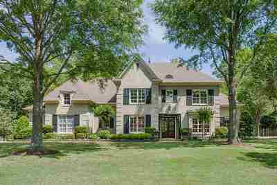 Collierville Single Family Home Contingent: 1670 Courts Meadow
