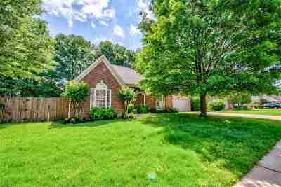 Collierville Single Family Home Contingent: 996 Heather Lake