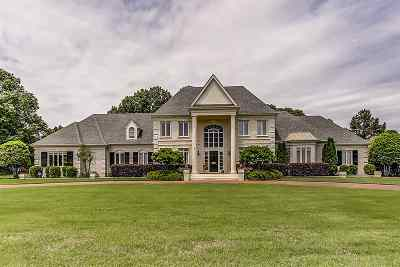 Collierville Single Family Home For Sale: 2735 Halle