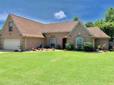 Bartlett Single Family Home For Sale: 7145 Shady Oaks