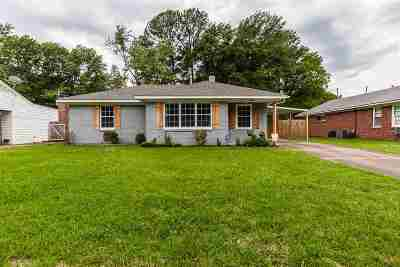 Memphis Single Family Home For Sale: 1539 Colonial