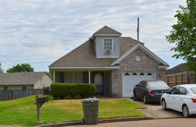 Memphis Single Family Home For Sale: 4438 Kings Valley