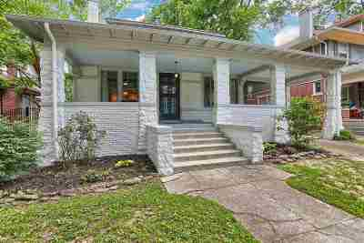 Single Family Home For Sale: 1747 N Parkway